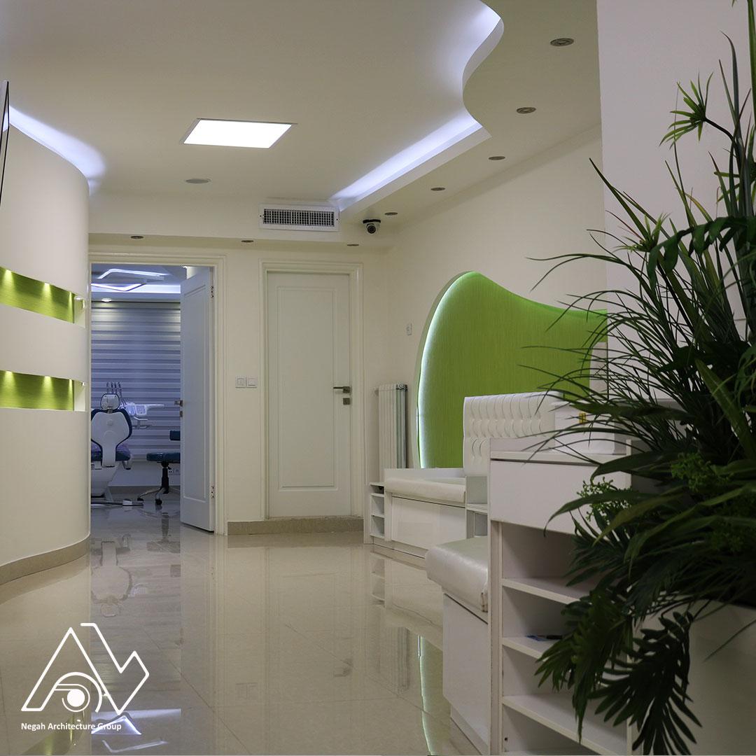 معماری داخلی محیط های درمانی